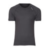Odlo Men Shirt s/s crew neck CUBIC ebony grey/black